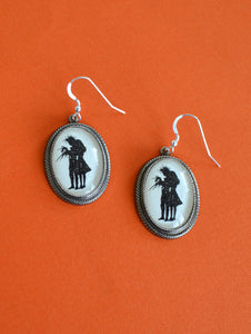 EDWARD SCISSORHANDS Earrings - Silhouette Jewelry