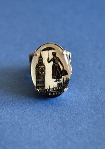 MARY POPPINS Ring - Silhouette Jewelry