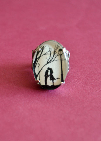 AUTUMN KISS Ring - Silhouette Jewelry
