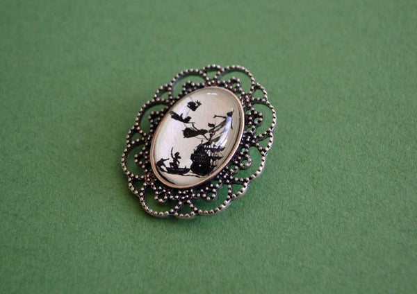 PETER PAN Brooch - Silhouette Jewelry
