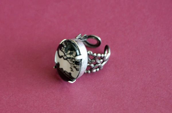 GONE WITH the WIND Ring - Silhouette Jewelry