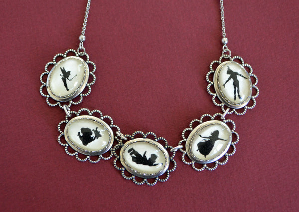 PETER PAN Necklace - special edition - Silhouette Jewelry
