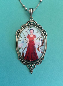 FRIDA KAHLO Necklace - pendant on chain