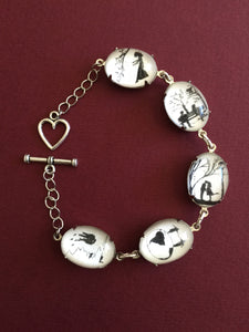 LOVE STORY Bracelet - special edition - Silhouette Jewelry