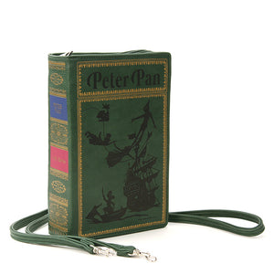 PETER PAN Book Clutch Crossbody Handbag