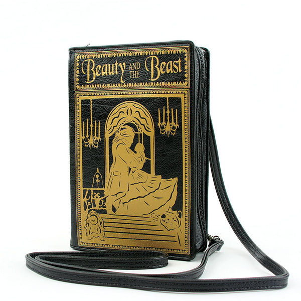 BEAUTY and the BEAST Book Clutch Crossbody Handbag