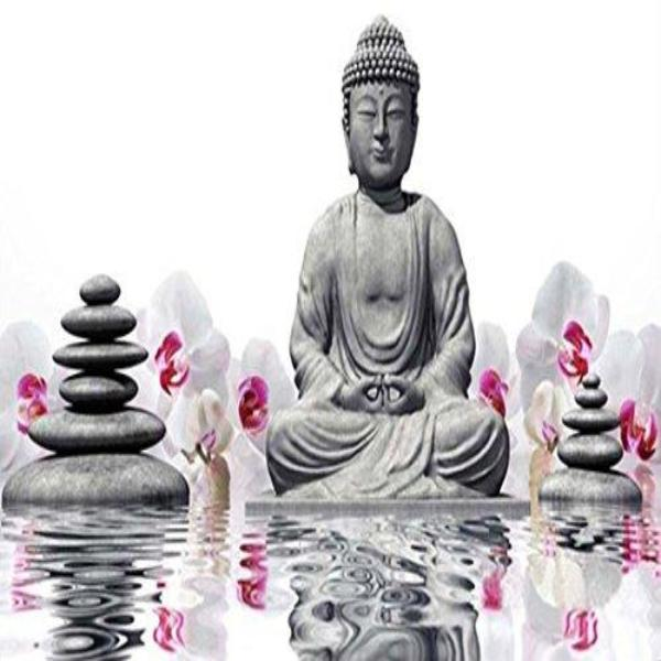 Orchid Buddha 5D Diamond Painting Kit