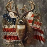 American Deer 5D Diamond Painting Kit