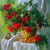 Autumn Foraging 5D Diamond Painting Kit