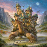 Turtle Castle 5D Diamond Painting Kit
