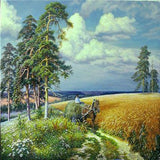 Haymaking Time 5D Diamond Painting Kit
