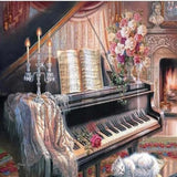 Musical Home 5D Diamond Painting Kit
