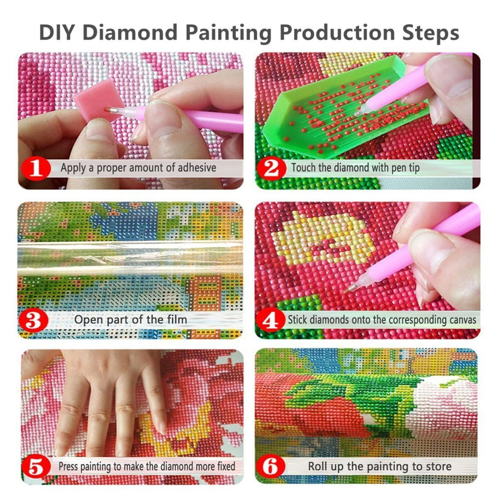 Paint With Diamonds Instructions
