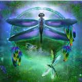 Dreamy Dragonfly 5D Diamond Painting Kit