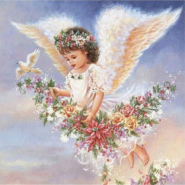 Messenger Angel 5D Diamond Painting Kit