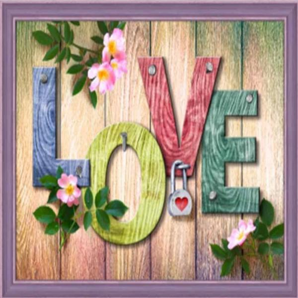 Love On Lock 5D Diamond Painting Kit