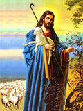 Shepherd Jesus 5D Diamond Painting Kit