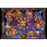 Zodiac Chart 5D Diamond Painting Kit with Free Shipping
