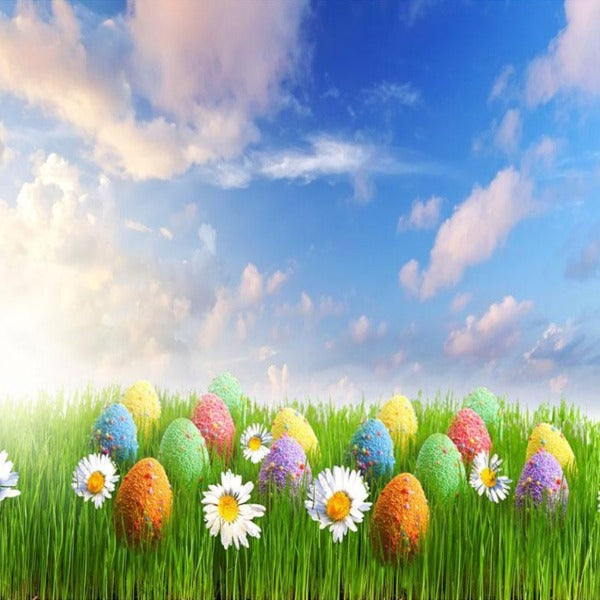 Easter Field 5D Diamond Painting Kit