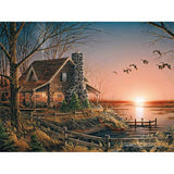 Old Cabin 5D Diamond Painting Kit