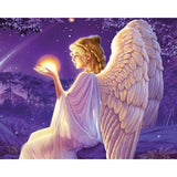 Dreaming Angel 5D Diamond Painting Kit