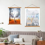 5D Magnetic Wall Wooden Frames