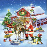 Santa's Workshop 5D Diamond Painting Kit