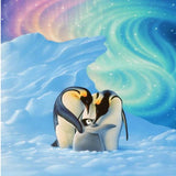 Penguin Family 5D Diamond Painting Kit