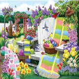 Knitter's Garden 5D Diamond Painting Kit