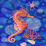 Cartoon Seahorse 5D Diamond Painting Kit