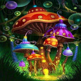 Funfair Mushroom 5D Diamond Painting Kit