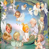 Happy Baby Angels 5D Diamond Painting Kit