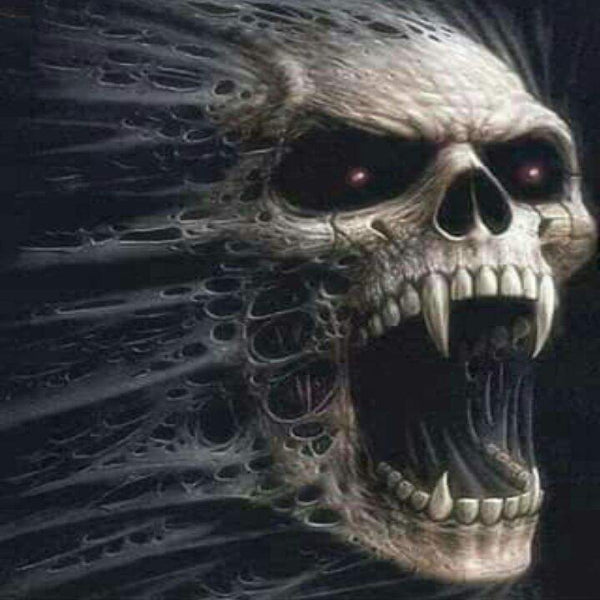 Skull Scream 5D Diamond Painting Kit
