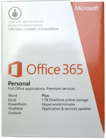 Microsoft Office 365 1 Year English Subscription/Renewal with 1TB Storage for Windows 8 & Mac