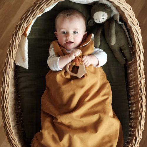 Sleep Sack - Ochre & Wood