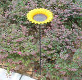Iron Flower Garden Decor and Bird Feeder