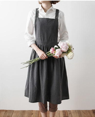 Washed Cotton Adult Apron