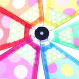 Multicolor Dots Children Wind Spinner