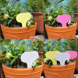 Plastic Plant T-type Tags Markers (50 pcs/lot)