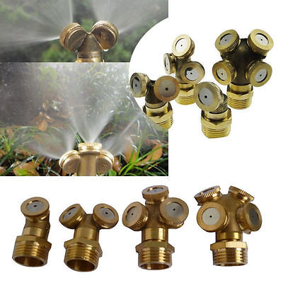 Adjustable Brass Misting Sprinklers