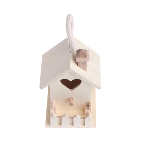 Heart Shape Hole Bird Feeder House