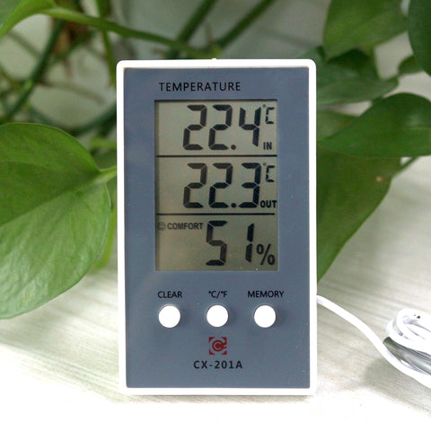Digital Thermometer Hygrometer Indoor/Outdoor