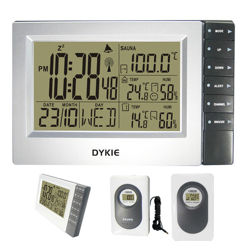 Digital Wireless Weather Station with 2 Sensors