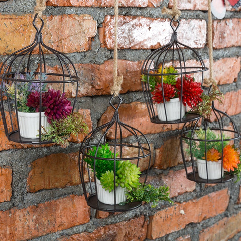 European Style Wrought Iron Flower Pot Holder