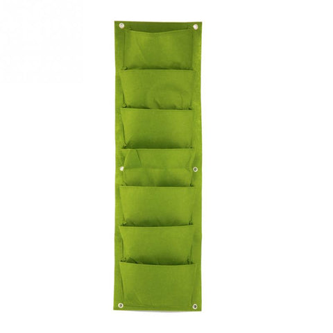 Vertical Wall-mounted Grow Bag with 7 Pockets