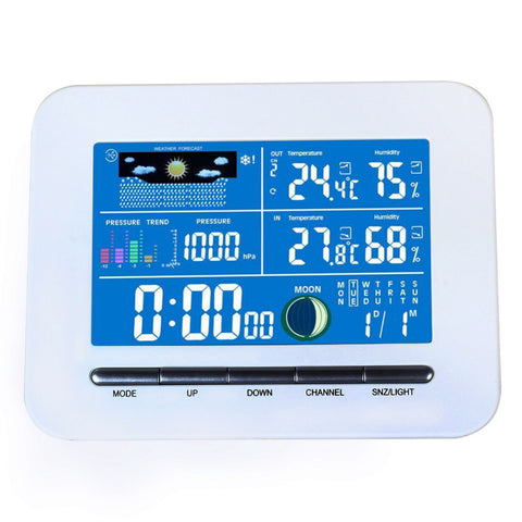 Wireless LCD Display Weather Station Indoor Thermometer & Humidity
