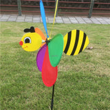 3D Large Bee Wind Spinner