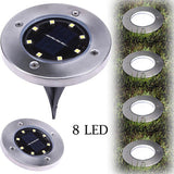 Stainless Steel Solar Power Ground Lamps