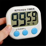 Magnetic LCD Digital Kitchen Countdown Timer Alarm
