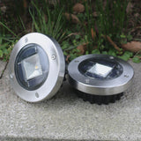 Solar Powered Underground Pathway Garden Light